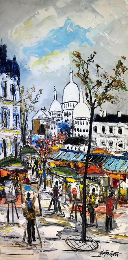 3_Montmartre Patrick Hugonnot Artiste Peintre Le Croisic