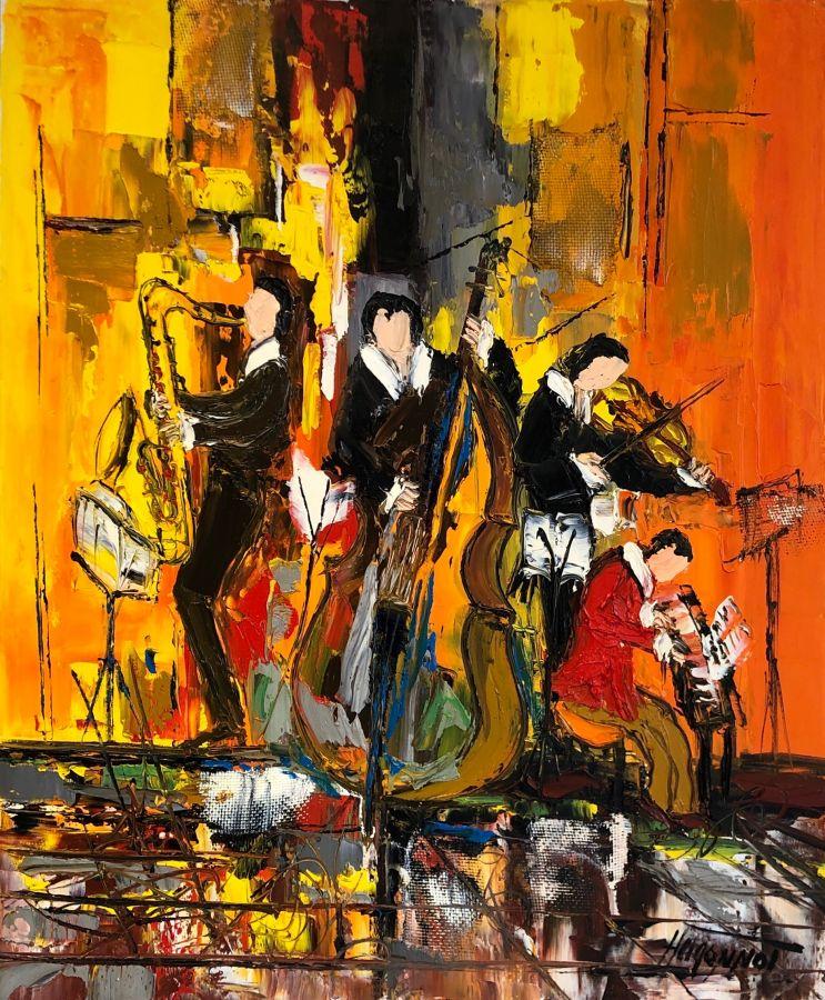 Jazz Patrick Hugonnot Artiste Peintre Le Croisic