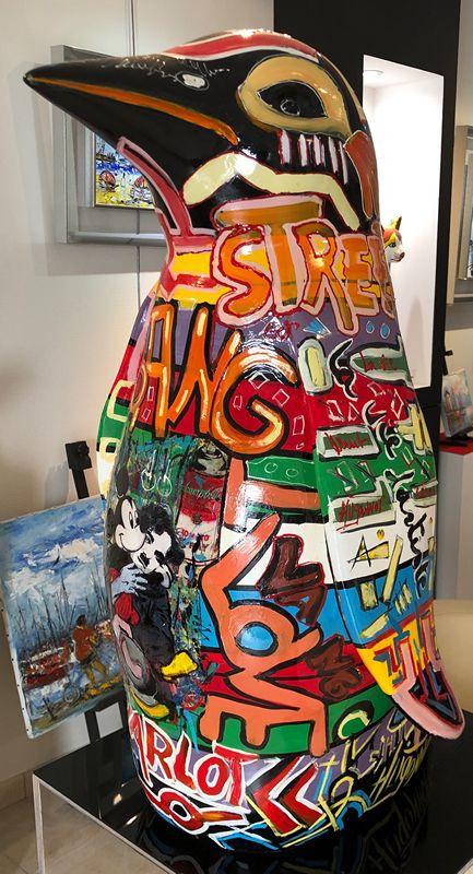 Patrick Hugonnot Artiste Peintre Le Croisic Sculpture Pingouin